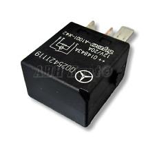 257-Mercedes-Benz B C E M Class 4-Pin Multi-Use Black Relay 0025421119 A1001-X42