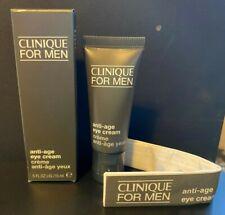 Clinique For Men Anti-Age Eye Cream .5 Fl. oz. Brand New Boxed