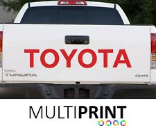 1x  TOYOTA TAILGATE TRUCK CAR VINYL STICKERS / DECALS GRAPHICS TOY2