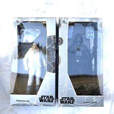 D23 Expo 2017 Exclusive Star Wars Princess Leia Darth Vader Figure LE 1000 #316