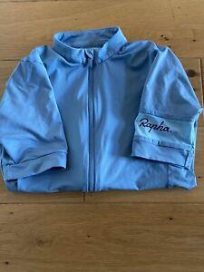 Rapha Women Core Short Sleeve Blue Jersey Size XS