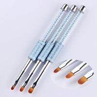 Nagel Kunst Pinsel Bemalen Stift UV Gel Painting Pen Drawing Brush Rund Kopf DIY