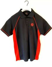Mens MG Red And Black Car Polo Shirt Size Large - British Sports Cars