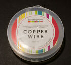 Jewellerymaking/Craft Wire 10m x1.0mm Champagne Gold Colour Silver Plated Copper