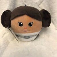 Hallmark Fluffballs Disney Star Wars Princess Leia Hanging Ornament New w/ Tags