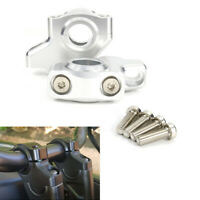 Color : Silver KKOYYRZ Motorcycle Handlebar Riser Bar Mount Handle Clamp Silver//Fit For CB650R CB1000R CRF1000L CRF1100L