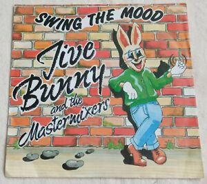 """Jive Bunny & The Mastermixers - Swing The Mood - 7"""" Vinyl Single"""
