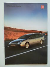 CITROEN C5 Estate 2003 UK Market Sales Brochure