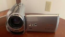 JVC GZ-MG630 HDD 60 GB Camcorder Silver Software Manual Cables