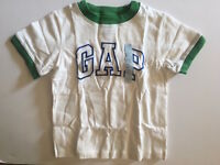 Baby GAP Boys Logo Arch Ringer T-Shirt Top 4T 5T 4 5 YOU PICK COLOR NWT NEW FS