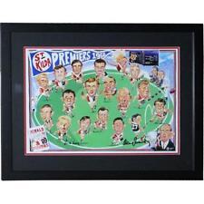 AFL St Kilda Premiers 1966 signed - Framed