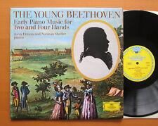 DG 643216 el joven Beethoven Joerg Demus Norman Shetler casi nuevo Tulipán Estéreo