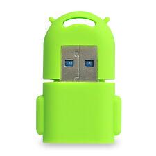 mini Doll Silicone Sleeve USB3.0 2TB TF microSD microSDHC microSDXC Card Reader