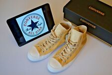 Converse Chuck Taylor Mens High Top Pumps Shoes Special Edition Satin Gold UK 7