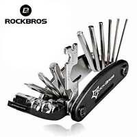 RockBros Bicycle Repair Tool Bike Pocket Multi Spanner Wrench Maintenanc16 In 1