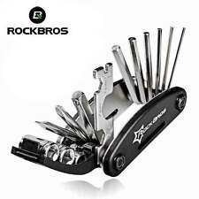 RockBros Bicycle Repair Tool Bike Pocket Multi Spanner Wrench Maintenanc16 In 1