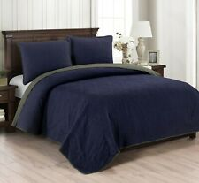 Brielle Home Casablanca Reversible Quilt Set & Sham Set