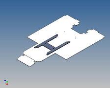 "M2rc-cubierta de marco para se Tamiya 2-Trailer m1:14 ""clean"""
