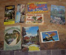 Florida Paper Souvenir Lot Postcards + More Vintage
