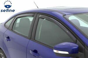AVS In-Channel Ventvisor Window Deflector 4Pc For 2012-2018 Ford Focus 194373