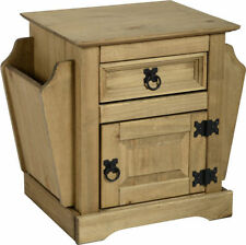 Wooden Rectangle Side & End Tables with Drawers
