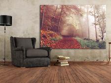 Herbst Leinwand 120x80 / XXL / 1Teiler / Wandbild / Landschaft / Natur / Wald