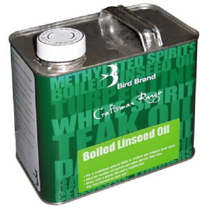 Boiled Linseed Oil Protects Seal Treatment Wood Timber Internal External Lustre