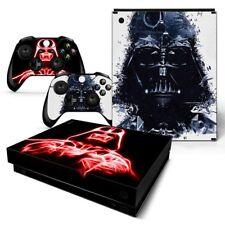 Xbox One X Forro Vinilo Diseño Lámina Pegatina -STAR WARS- Darth Vader