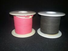 Belden 20 Awg Red And Black Test Lead Wire 5000v 25 Ft Spools Of Each Color