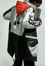NEW Polo Ralph Lauren $798 Black/METALLIC SILVER P-Wing 5 STADIUM Jacket M Rare