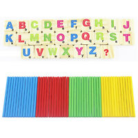 Children Wooden Numbers Mathematics Early Learning Counting Educational Toy