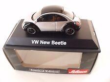 Vw Volkswagen Nouvelle Coccinelle Type 9c 1997-2005 Noir/métal Argenté 1 43