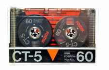 FOSTEX CT 5 60 TYPE II High Bias Reel Kassette Japan Neu OVP Cassette