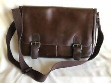 WILSONS LEATHER Messenger Bag (Cross shoulder, Brown) CB-JUN203-32