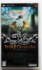 YS I&II CHRONICLES - PSP - NTSC JAPAN JAP I AND II 1 2 - ANCIENT YS VANISHED