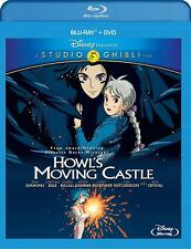 Disney Howl's Moving Castle (Two-Disc Blu-ray/DVD Combo) NEW Free Shipping