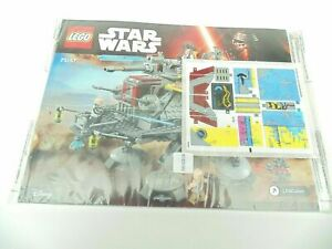 LEGO 75157 Captain Rex's AT-TE Instruction Manual and Decals ONLY 2016