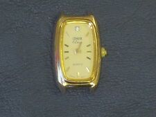 Geneve Classic 10K or 14K Gold Nugget Ladies Oval Watch Head - WATCH HEAD ONLY
