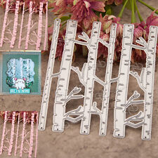 Birch Trees Metal Cutting Dies Stencil Scrapbooking Cards Paper Embossing Craft