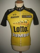Lotto Jumbo WORN by RIDER jersey shirt cycling LottoNL maillot thermo size M