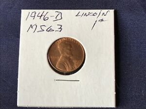 1946-D Lincoln Cent