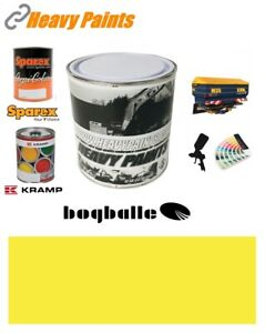Bogballe Spreader Yellow Paint High Endurance Enamel Paint 1 Litre Tin