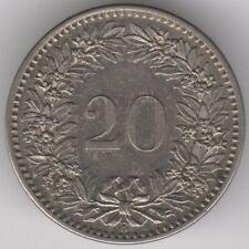 More details for 1883 switzerland 20 rappen   european coins   pennies2pounds