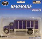 Boley HO Scale (1:87) 4513-22 International 7000 Beverage Truck Blue New!