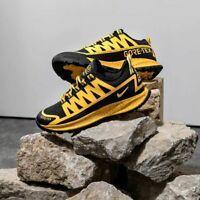 Nike ACG Air Nasu Gore Tex Mens Black Orange Sneaker Shoe Trainer All Sizes