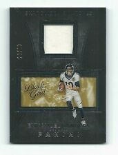 Emmanuel Sanders 2016-17 Black Gold Football Shadowbox Swatches Patch Card 22/99