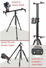 31.5Inch(80cm) Camera Track Dolly Slider Rail Video Stabilizer