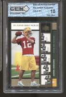 2005 Aaron Rodgers UD Rookie Premiere Gold #16 Gem Mint 10 RC Rookie Packers