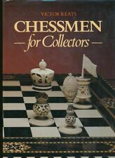 Victor Keats, Chessmen for Collectors (1985, Book, Illustrated)