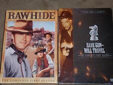 Have Gun Will Travel DVD & Raw Hide The Complete First Season.